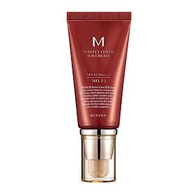 BB крем з ідеальним покриттям Missha M Perfect Cover BB Cream SPF42 / PA +++ 23 Natural Beige 50 мл