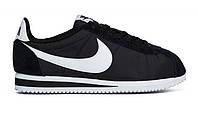Оригинальные кроссовки Nike Classic Cortez Nylon Black/White (ART. 807472 011)
