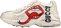 Женские кроссовки Gucci Rhyton Mouth Vintage 552089 A9L00 9522, Гуччи Питон