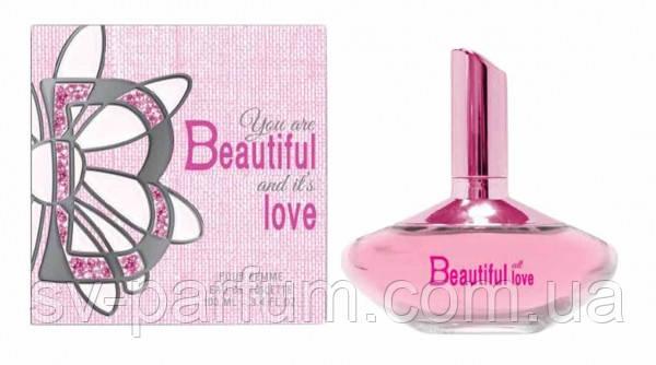 Туалетная вода женская Beautiful Love 100ml
