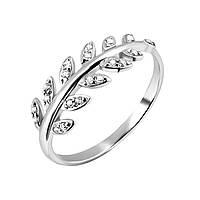 Необычное кольцо с камнями Нета