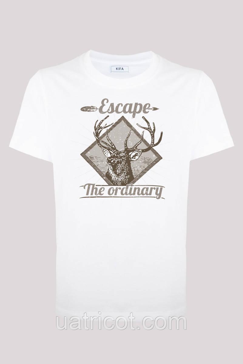 Футболка мужская KIFA ФМХ-017/69 Escape белая