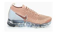 Оригинальные кроссовки Nike Air Max Vapormax Flyknit 2 Rose Gold (Art. 942843-602)