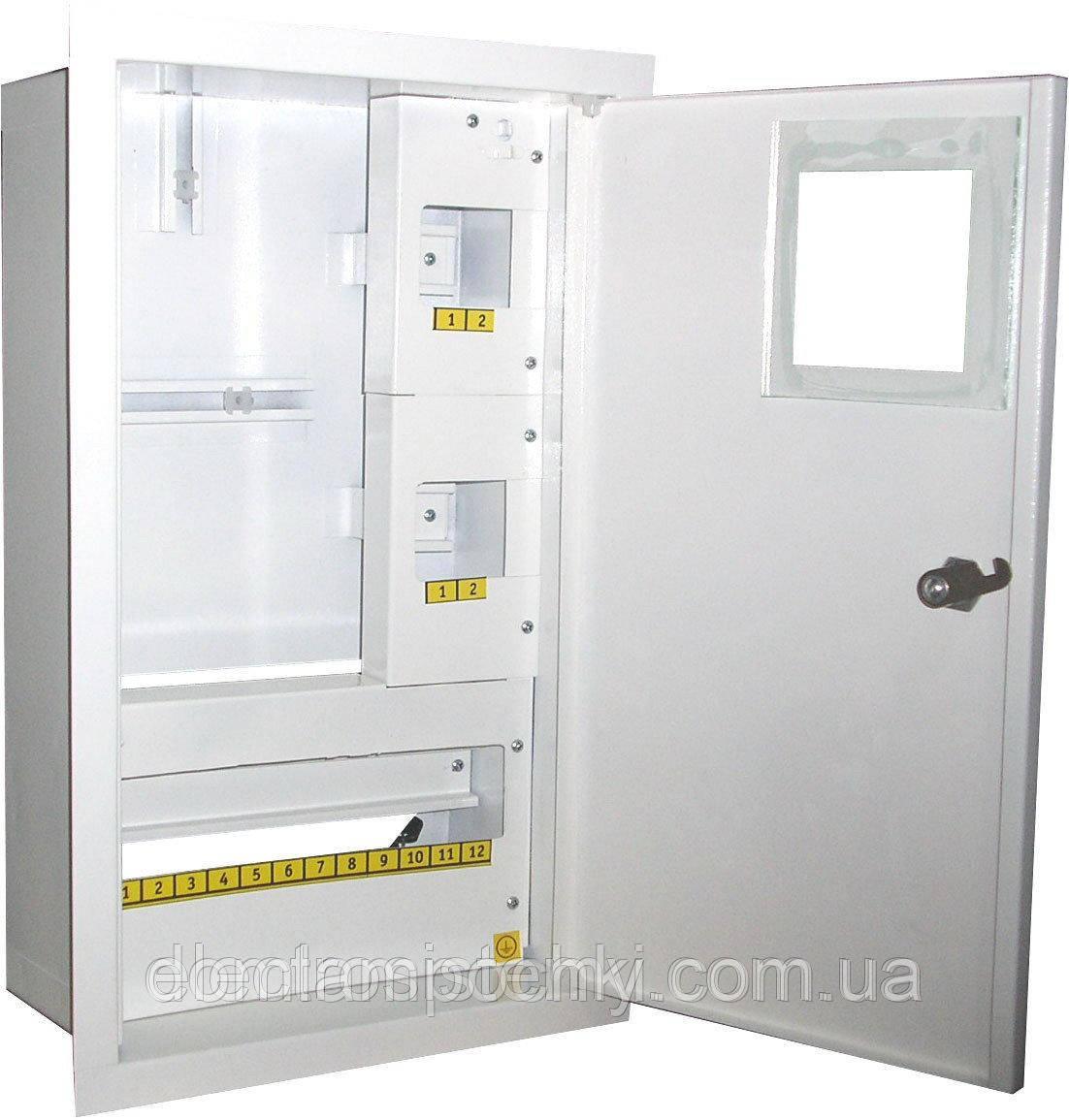 Шкаф электронный 1-фазный на 16 автоматов внутренний