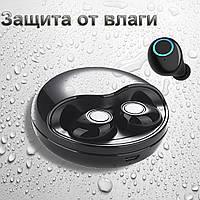 Навушники бездротові блютуз-гарнітура з зарядним кейсом 500 мА * ч. Wi-pods К10 навушники Bluetooth 5.0.Чорні
