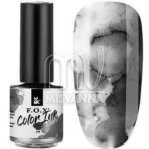 Чернила F.O.X Color Inks №001, 5 мл черный