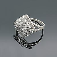 """Серебряное кольцо """"Женское счастье"""""""