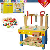 Деревянная игрушка набор инструментов MSN17080, фото 1
