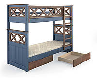 Двухъярусная кровать Мальта из дерева