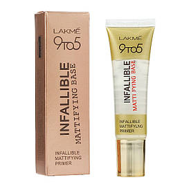 Праймер матирующий Lakme 9to5 Infallible Mattifying Base