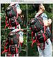 Туристический рюкзак HW1524 для путешествий и туризма, со свистком, 60л, фото 3