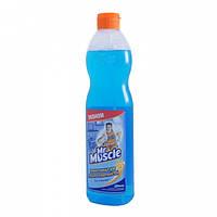 Средство для мытья стекол и других поверхностей Mr Muscle со спиртом эконом формат 500 мл