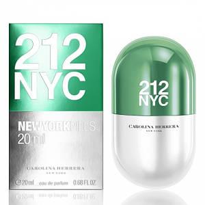 Парфюмерная вода женская (духи)  Carolina Herrera 212 NYC Pills 100 мл