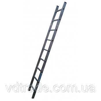 Приставная лестница ELKOP VHR HOBBY 1X9 АЛЮМИНИЕВАЯ, 2427 ММ