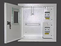 Шкаф электронный 1-фазный на 6 автоматов наружный