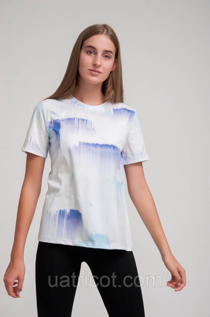 Футболка женская KIFA ФЖ-019/43 Tie-dye sharp
