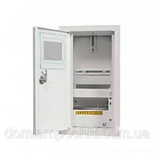 Шкаф электронный 1-фазный на 8 автоматов внутренний