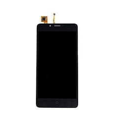 Дисплей (экран) для Ergo B501 Maximum Dual Sim с сенсором (тачскрином) черный