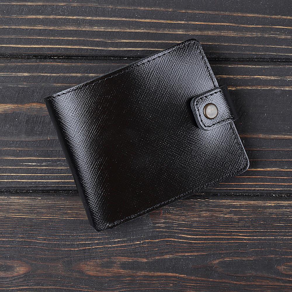 Кошелек v.1.0. Fisher Gifts BUSSINES портофино черный (кожа)