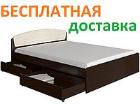 ✅ Кровать двуспальная 160х200 с ящиками Астория с БЕСПЛАТНОЙ ДОСТАВКОЙ