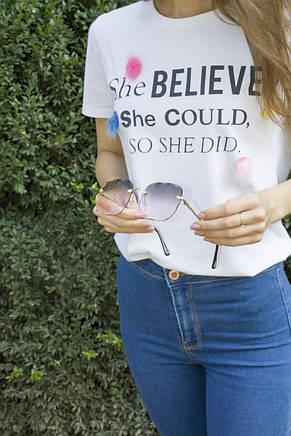Солнцезащитные женские очки 9364-5, фото 3