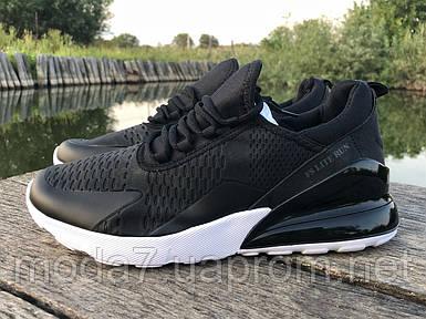 Мужские кроссовки реплика Nike Air Max 270 черные/белые