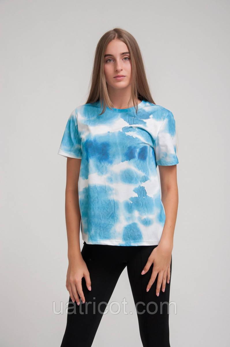 Футболка женская KIFA ФЖ-019/43 blue water