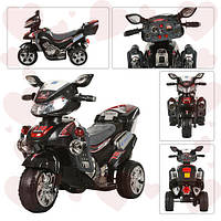 Детский электромобиль BAMBI Мотоцикл M 0562, черный