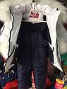 Детский зимний комбинезон на девочку Киса Размеры 80, фото 6