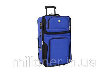Чемодан Bonro Best средний синий, фото 2
