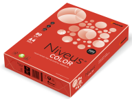 Бумага цветная Niveus интенсив А4/80 500 листов красная