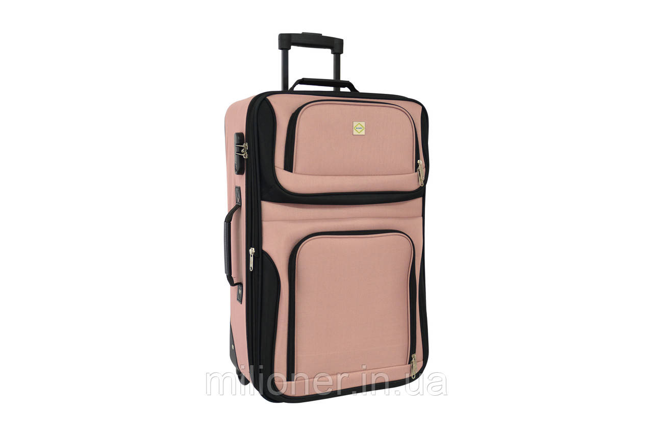 Чемодан Bonro Best средний розовый