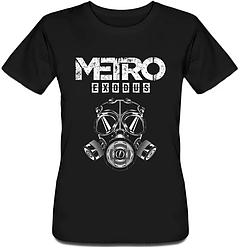 Женская футболка Metro Exodus (чёрная)