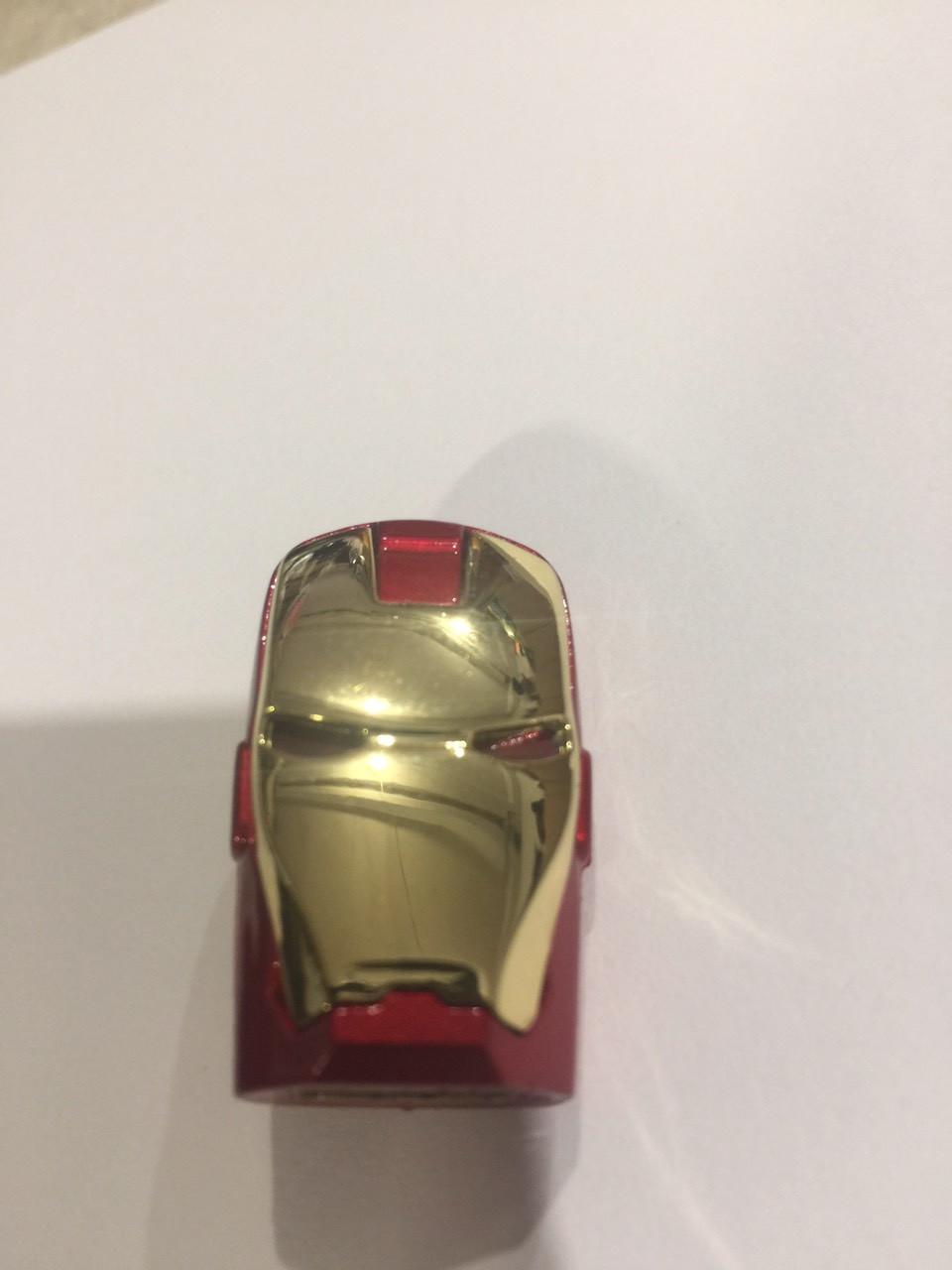 USB-ФЛЕШКА голова Залізної Людини з світлодіодом 4Gb