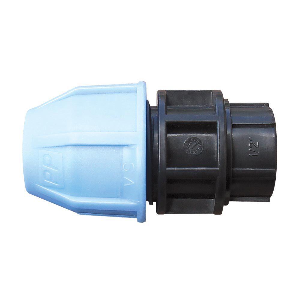Муфта с внутренней резьбой для полиэтиленовых труб VS Plast 2002 25х1/2' зажимная