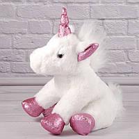 Мягкая игрушка Единорог, Плюшевый Единорожек, плюшевый единорог, фото 1