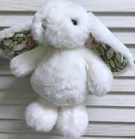 """Зайчик """"Bouncy Bunny - White Flower"""", 15 см"""