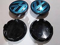 Заглушки (колпачки) в оригинальные литые диски Volkswagen passat b6 (фольксваген пассат б6) 2005-2011