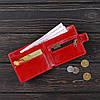Кошелек v.1.0. Fisher Gifts VIP алькор красный (кожа), фото 3
