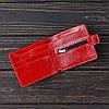 Кошелек v.1.0. Fisher Gifts VIP алькор красный (кожа), фото 2
