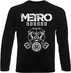 Футболка с длинным рукавом Metro Exodus (чёрная)