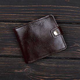 Кошелек v.1.0. Fisher Gifts VIP алькор коричневый (кожа)
