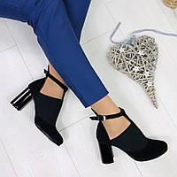 Туфли женские кожаные на  каблуке by Vinata весна/осень, размер 36-41
