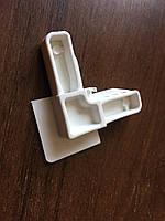 Уголки рамок профиля москитной сетки внутренне, белый