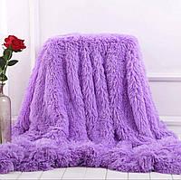 Шикарное покрывало травка Leopolo Турция 150*200 Фиолетовый