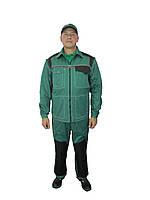Костюм рабочий с полукомбинезоном мужской  «Автомеханик» спецодежда куртка-полукомбинезон