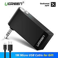 Bluetooth 4.1 receiver AUX кабель UGREEN аудио приемник аудио адаптер 3.5 микрофон