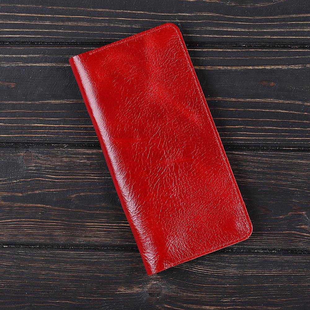 Портмоне v.2.0. Fisher Gifts VIP алькор красный (кожа)