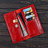 Портмоне v.2.0. Fisher Gifts VIP алькор красный (кожа), фото 3