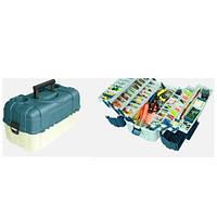 Ящик для снастей 6яр. со съемными перегородками 46*25*24см AQT-2706 (4шт)